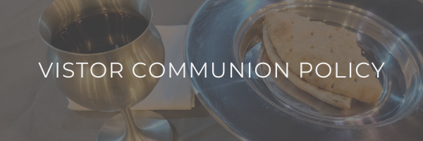 Visitor Communion Policy